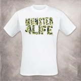 M�nster 4 Life T-Shirt (Camou - wei�)