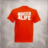M�nster 4 Life T-Shirt (rot)
