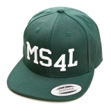 M�nster Snapback Cap - MS4L (Flaschengr�n)