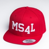 M�nster Cap Snapback - MS4L (Rot)