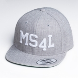 M�nster Cap Snapback - MS4L (Heather)