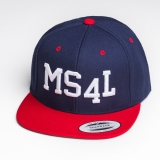 M�nster Cap Snapback - MS4L (Navy/Rot)