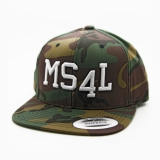Münster Cap Snapback - MS4L (Camou)