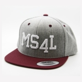 Münster Cap Snapback - MS4L (Heather/Maroon)