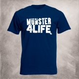 Münster 4 Life T-Shirt (navy)