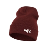 Münster Beanie - MS4L Handletter (Maroon)