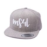 Münster Cap Snapback - MS4L Kids Handletter (Heather)