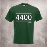 4400 - MS4L T-Shirt (flaschengr�n)