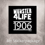 MS4L 4er Sticker Package (1906)